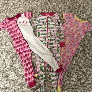 Girls pajamas bundle